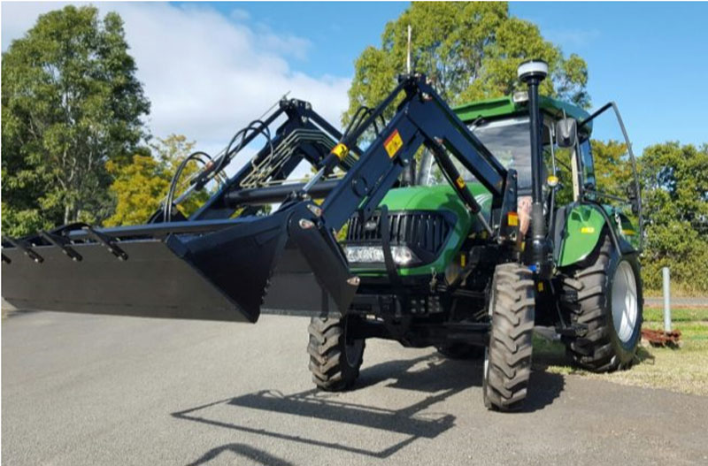 Front End Loader with Quick Release 4 in 1 Bucket - TZ06