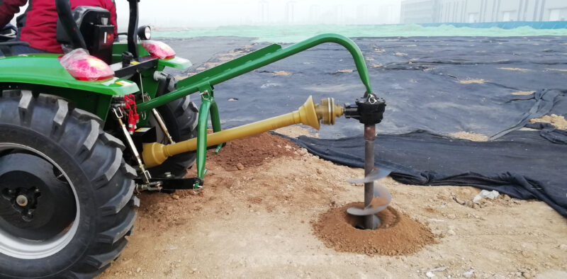 """post hole digger with 12"""" auger"""