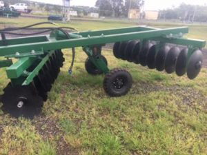 20 Plate Trailing Plough