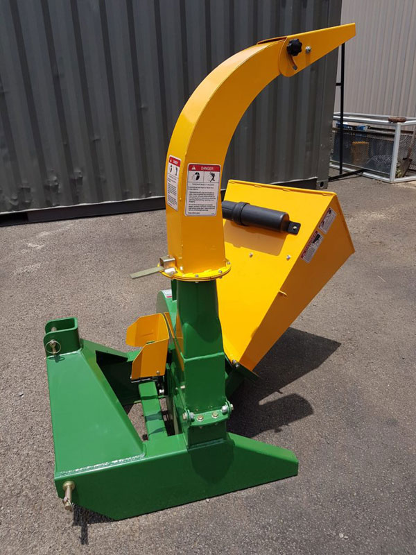Wood chipper 9 inch